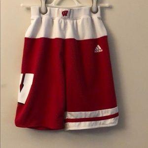 Boys adidas Wisconsin shorts